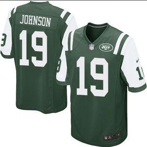 Nike NY Jets #19 Keyshawn Johnson Jersey